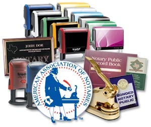 notary stamps and seals