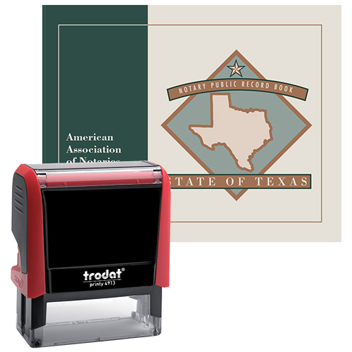Texas Notary Supplies Value Package I
