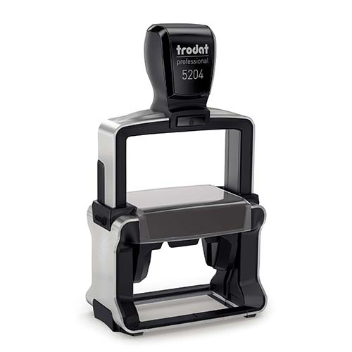 This Texas heavy-duty, self-inking notary stamp is designed for 24/7 use or for notaries who want their stamps to last many years. The notary stamp's sturdy steel core guarantees durability and stability. The stamp handle fits comfortably in your hand and with gentle pressure produces the sharpest notary seal impression with ease. The ink pad can be easily replaced or re-inked. Available in five ink colors. Available in five ink colors.